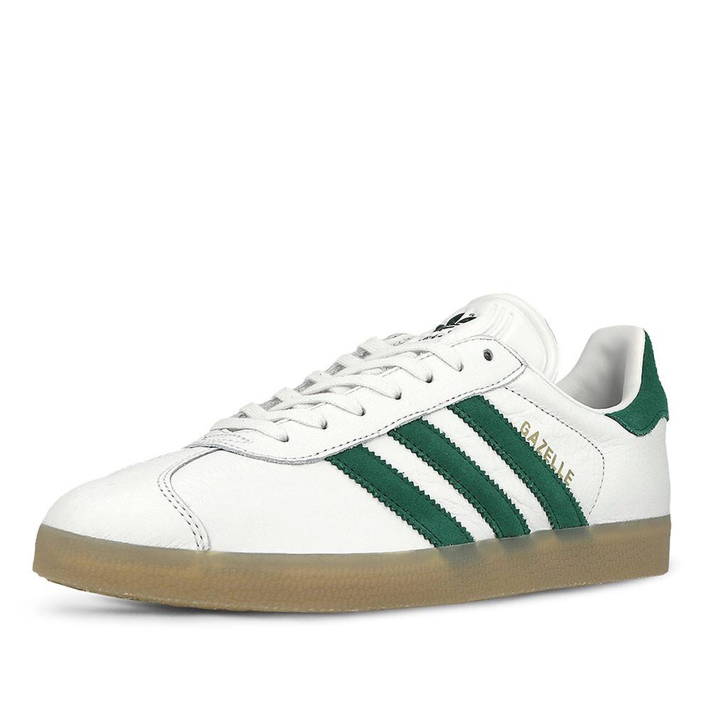 Image of Adidas gazelle sneakers wit groen