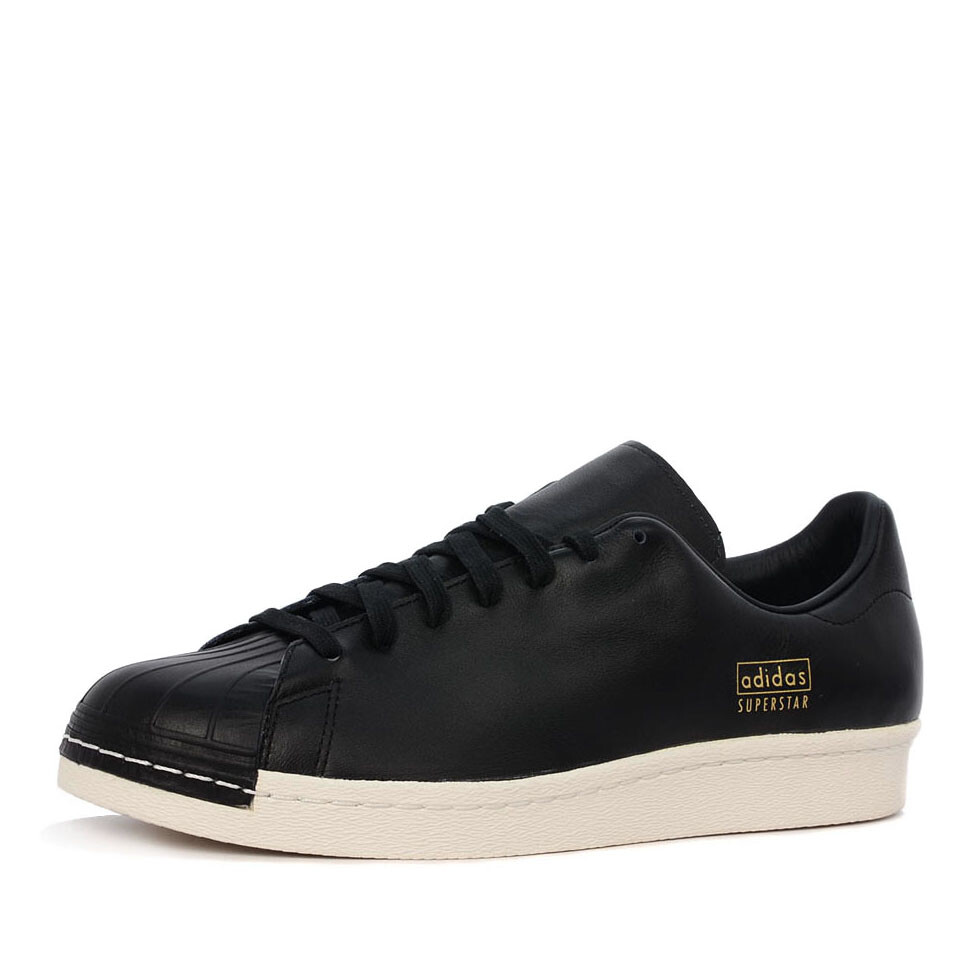 Adidas superstar 80s clean sneaker zwart