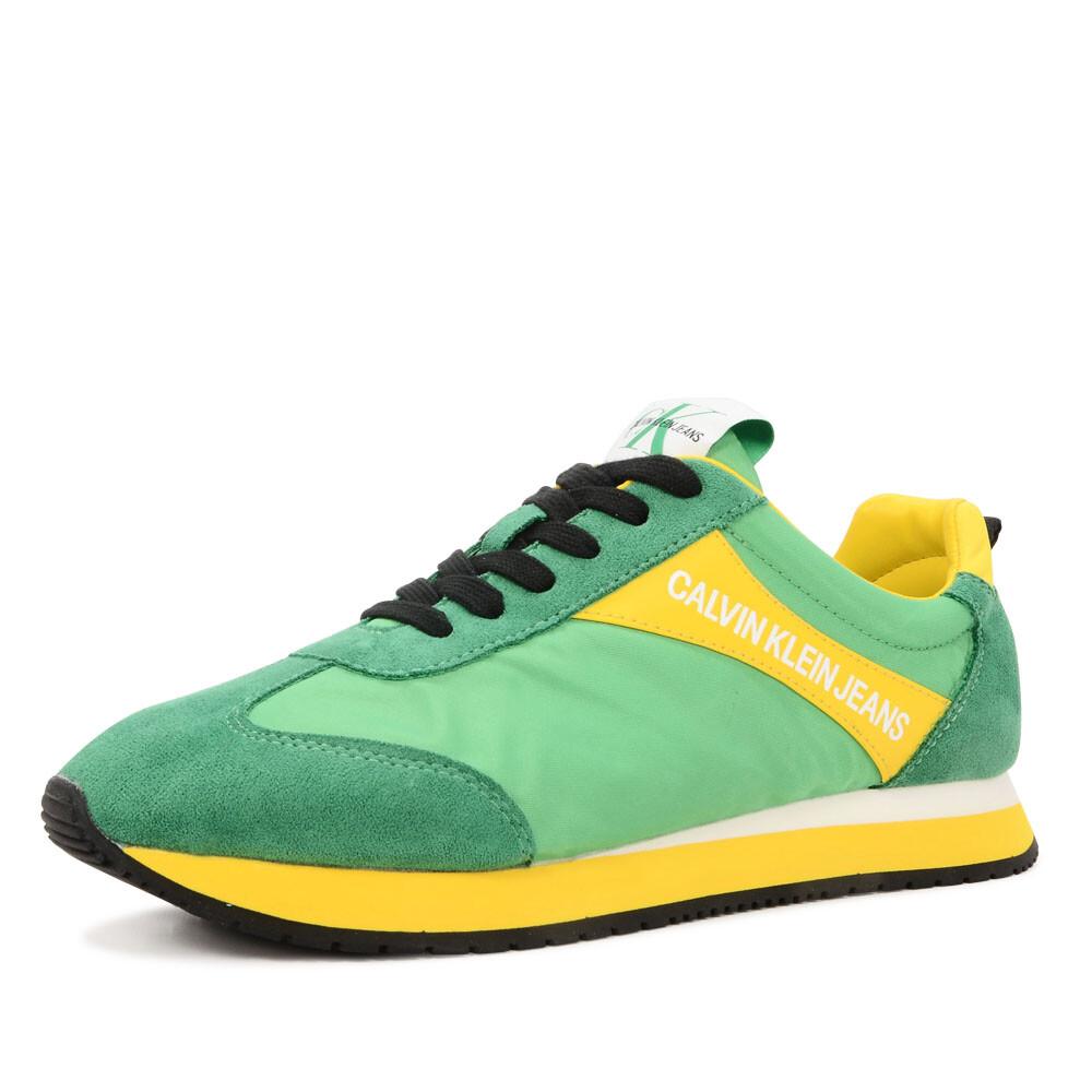 Calvin Klein jerrold sneaker groen