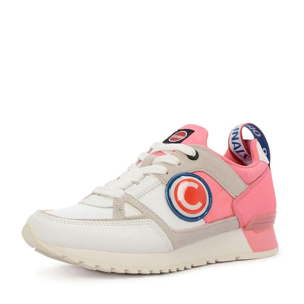 Colmar supreme sneaker wit roze