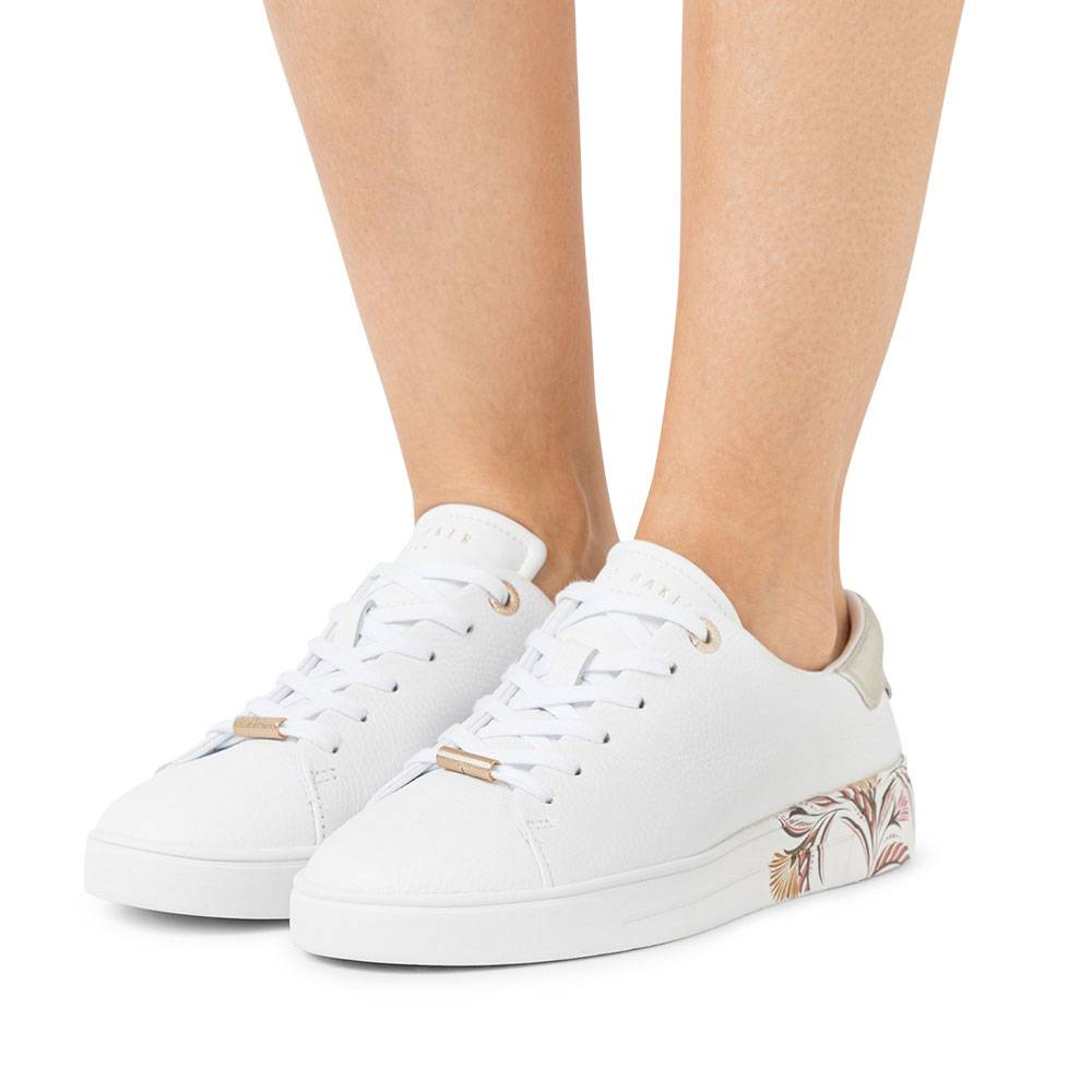 Ted Baker Tiriey dames sneakers wit