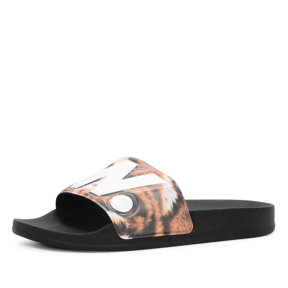 G-Star cart slide II tijgerprint slipper