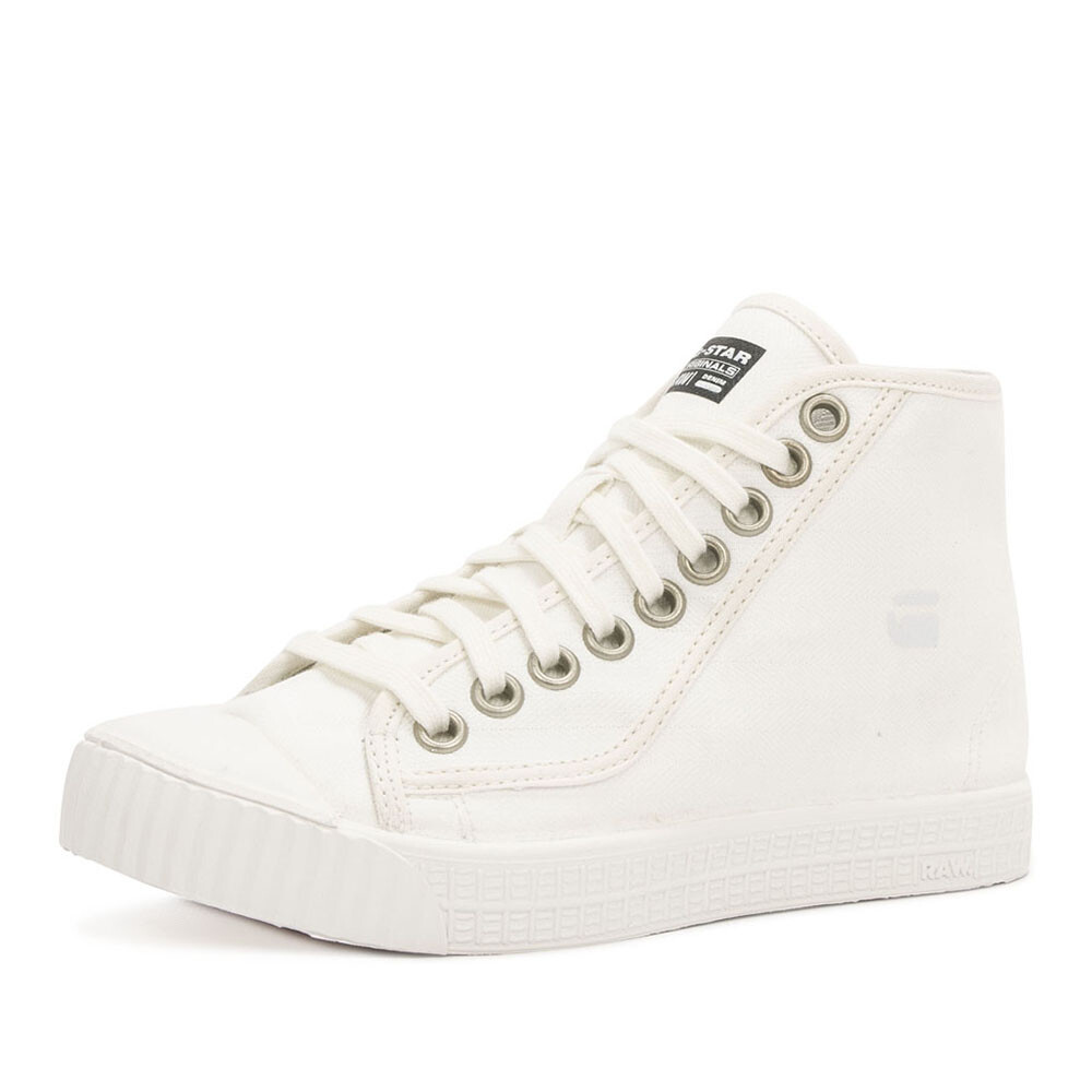 G-Star rovulc mid schoen wit