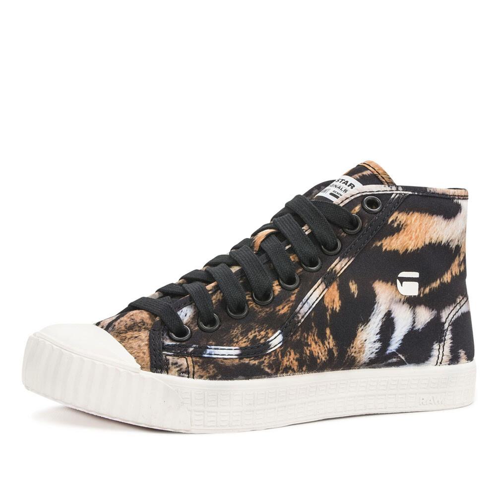 g-star rovulc mid tijgerprint sneaker