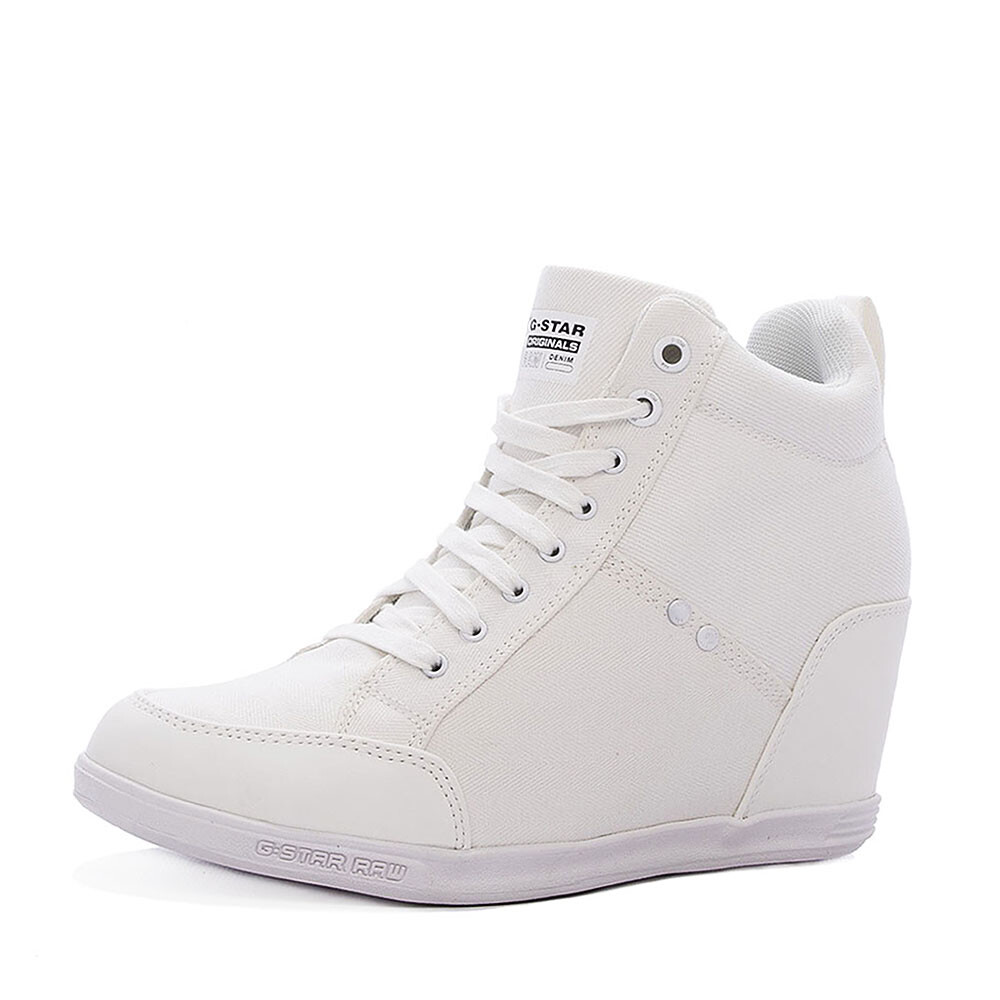 G-Star labour wedge sneaker wit
