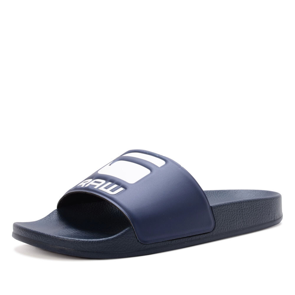 G-Star cart slide badslipper blauw