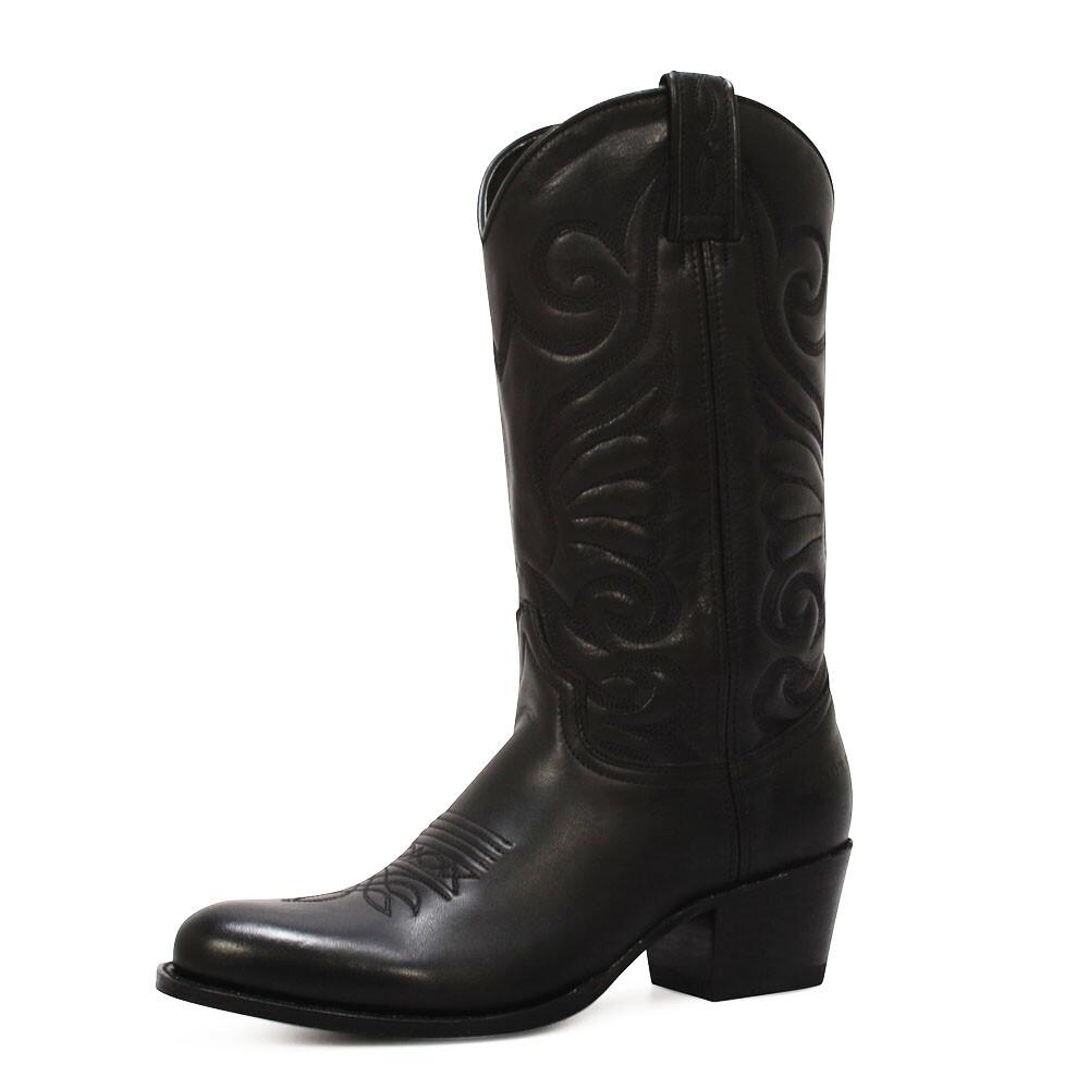 Sendra cowboylaarzen 11627 zwart