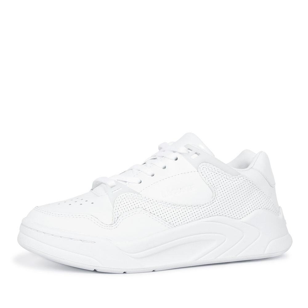 Lacoste court slam  sneaker wit