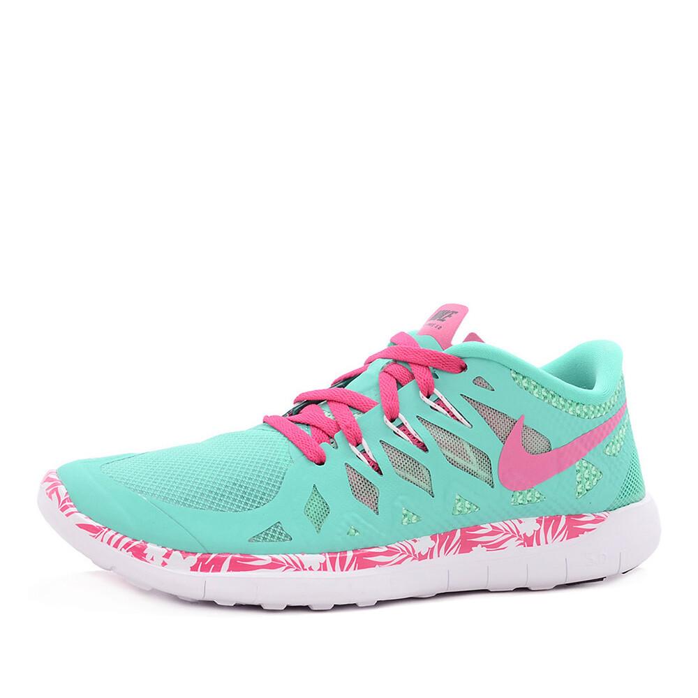 Nike free groene schoenen
