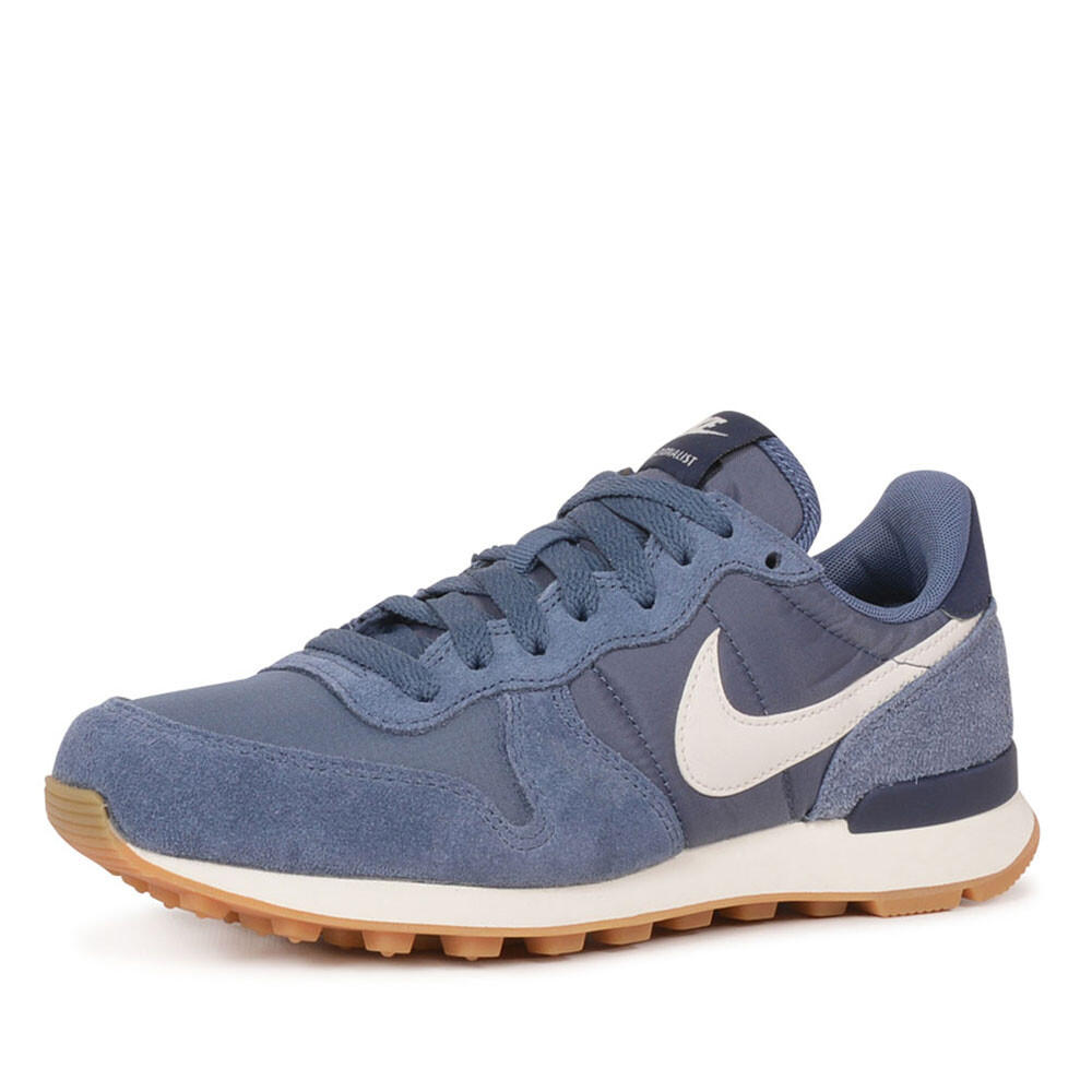 Nike internationalist sneaker blauw