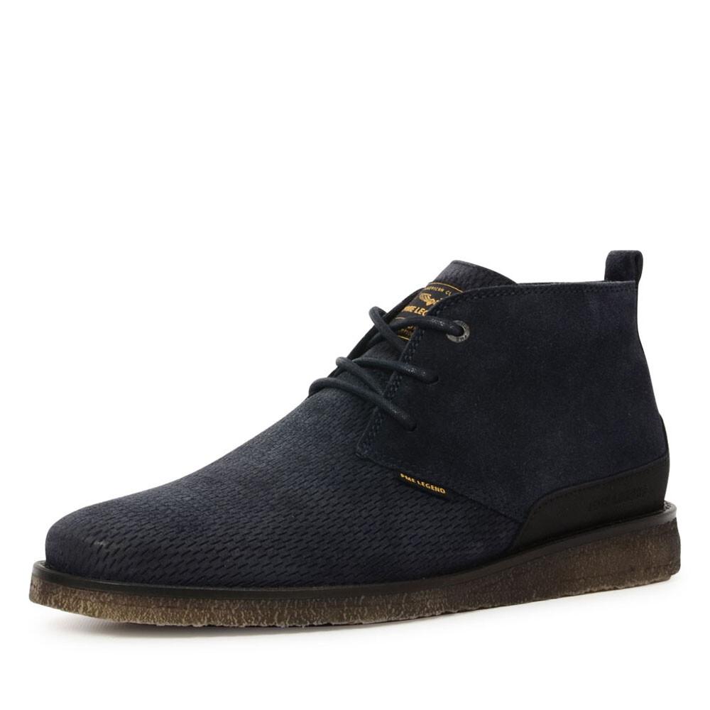 PME Legend schoenen chukka ds blauw