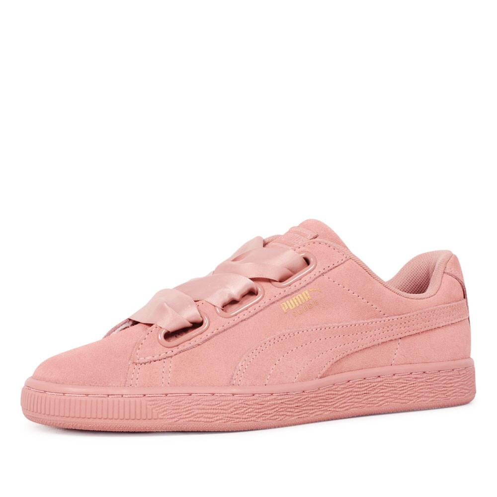 Puma suede heart roze sneaker