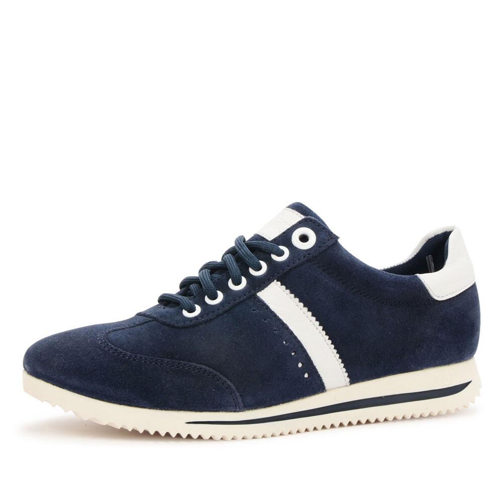 s.Oliver 23610 blauwe  sneaker