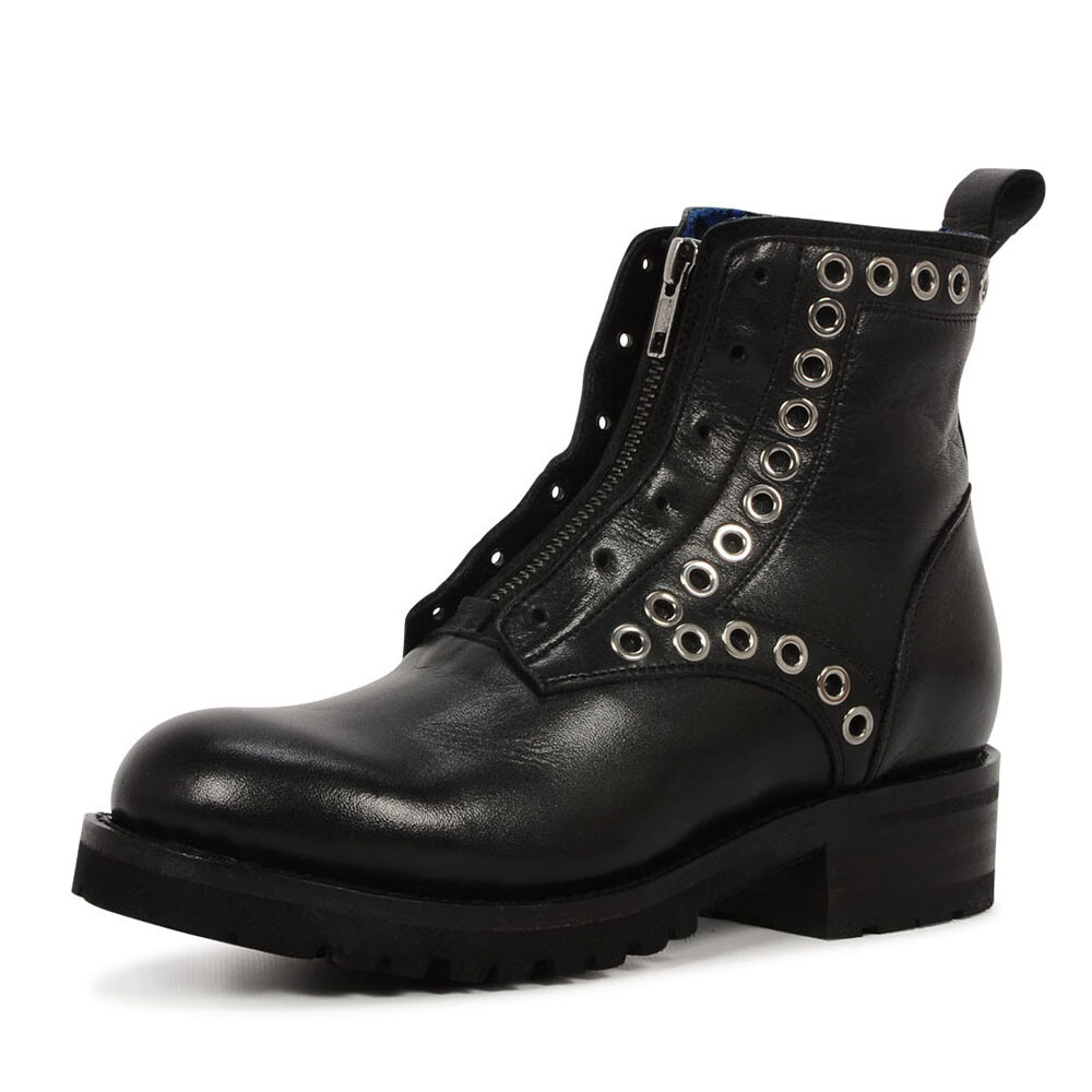Sendra 15598 biker boots met rits