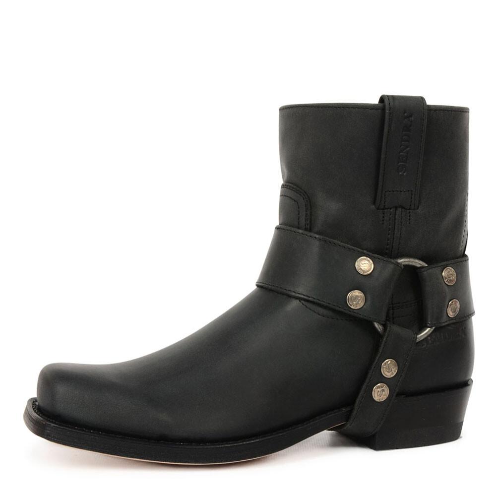 Sendra zwarte laarzen