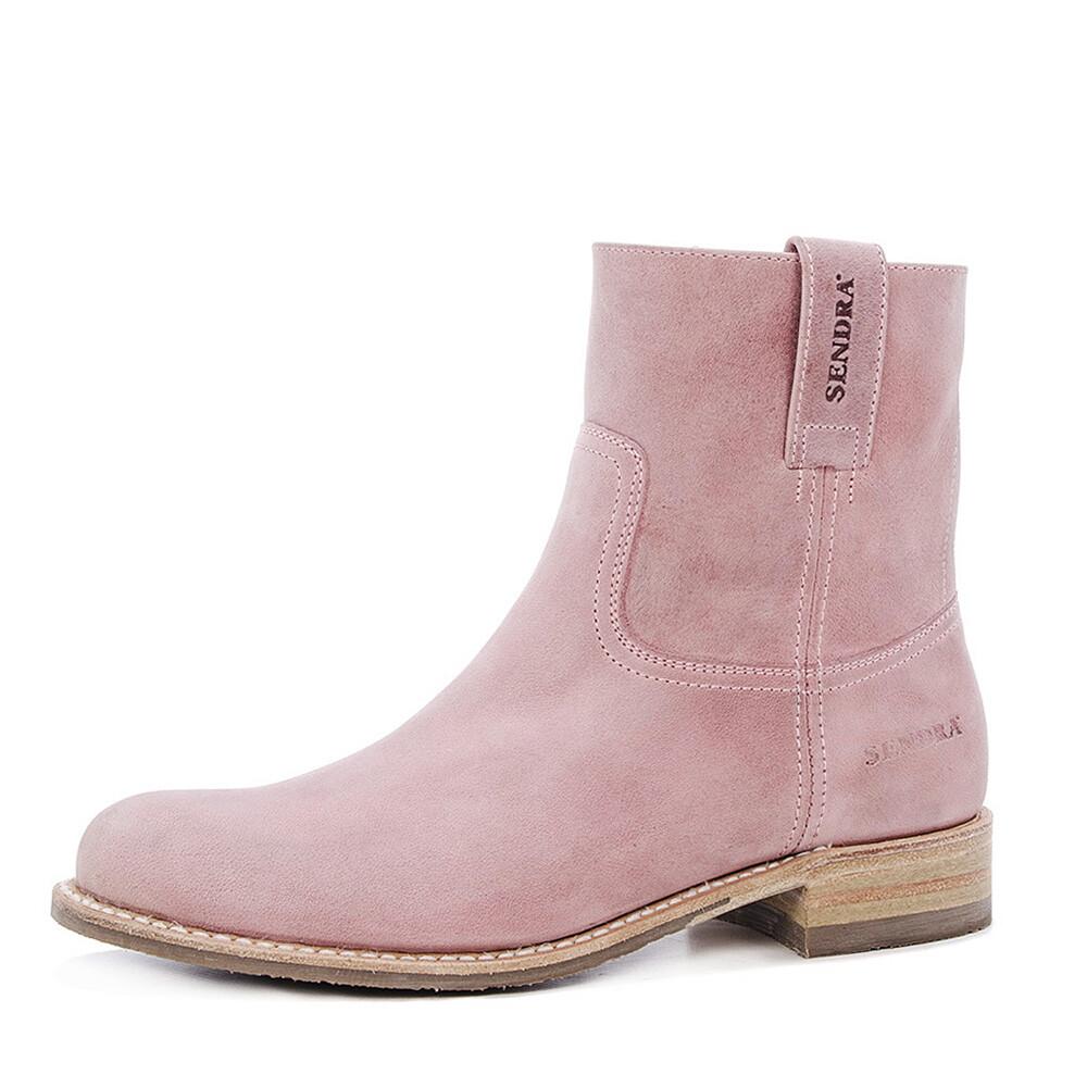 Sendra boots 13012 roze enkellaars