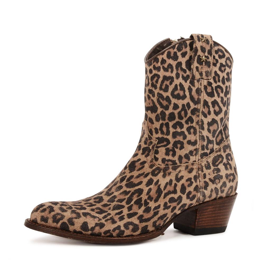 Sendra 15952 boots met panterprint