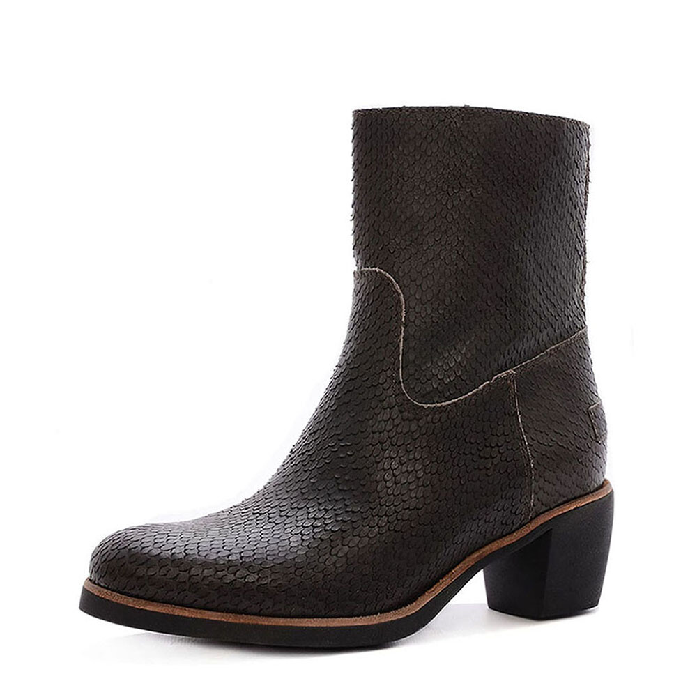 Shabbies 207020 snake boots