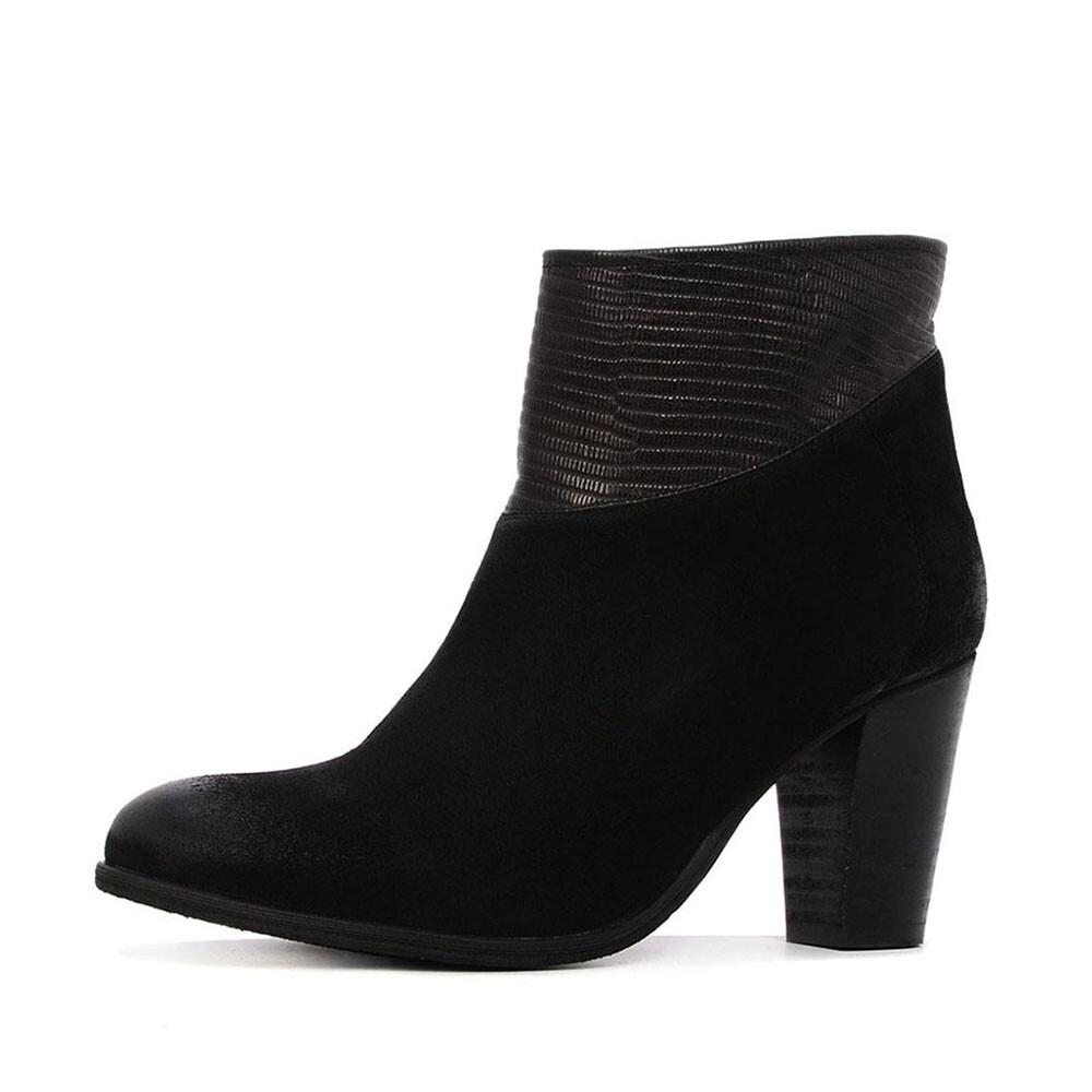 Schoenenwinkel, SPM calvin 10755067 enkellaars zwart