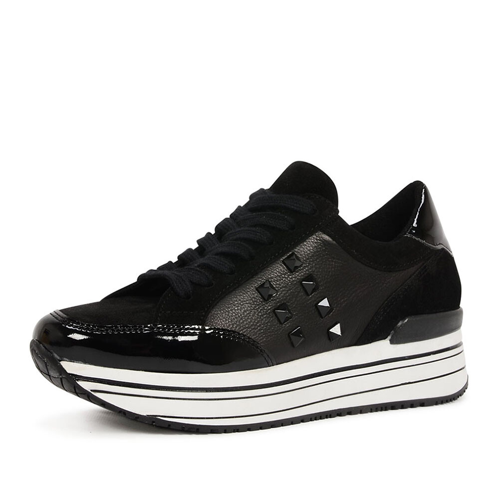 SPM leanstud sneaker zwart