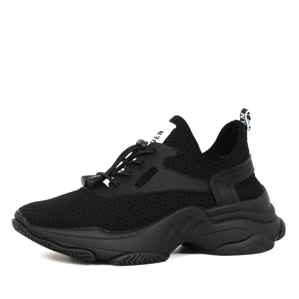 Steve Madden match sneaker zwart