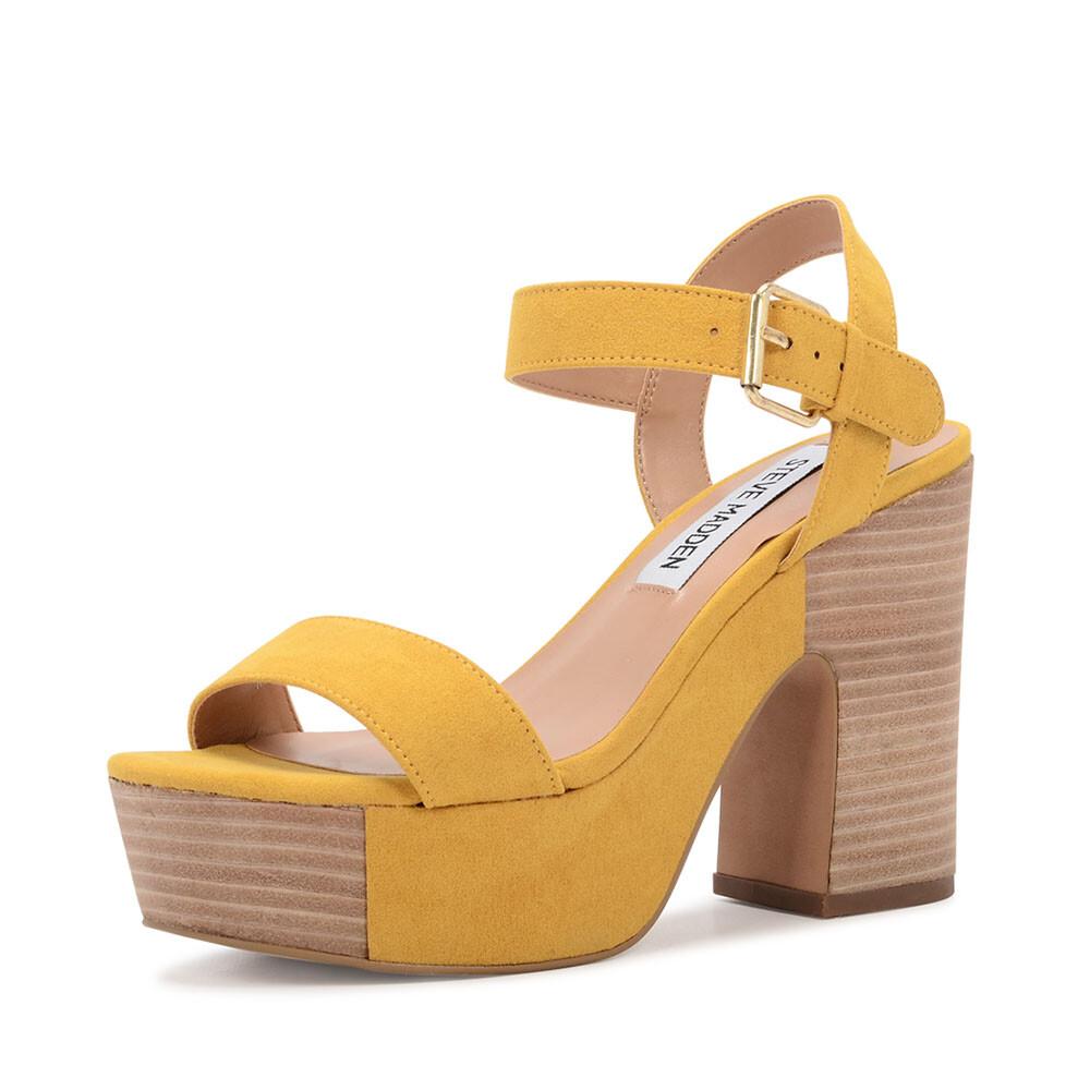 Schoenenwinkel, Steve Madden zanto sandaal geel
